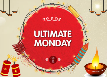 Snapdeal Ultimate Monday + 5% Cashback with HDFC Cards.