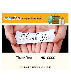 Get 5% Off On SnapDeal e-Gift Cards