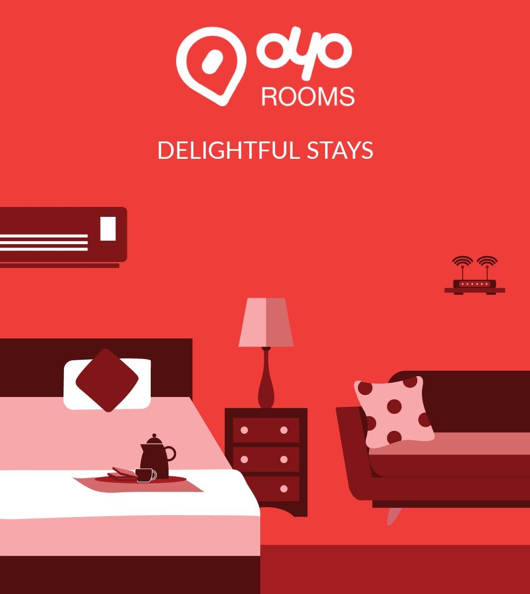 500FLAT: Rs 500 OFF + Rs 300 Mobikwik Cash on Oyo Rooms.