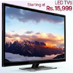 Extra 18% Cashback on LED TVs on PayTM: Diwali LED Offer.