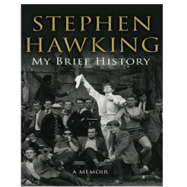 My Brief History By Stephen Hawking at Rs 80: Best Seller.