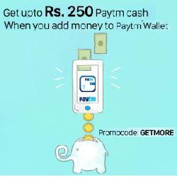 5% Cashback on Rs 1000 & Above on Adding to Paytm Wallet.( Deals Inside )