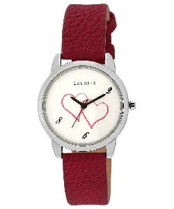 84% Off On Laurels Original February White Dial Womens Watch (Lo-Feb-101)