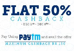 Flat 50% Cashback on Baby Care Products (Max Rs.150) via payment wallet