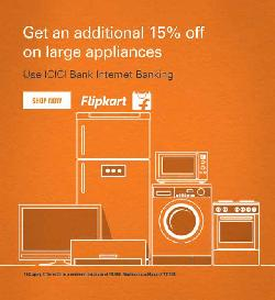 Flipkart World Cup Offer- Upto 30% OFF on AC, Refrigerators and Appliances + Extra 15% Cashback