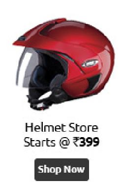 Helmets from Vega, Studds and Ozone 57% OFF + 5% Mobikwik Cash