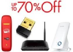 Internet and Networking Devices Upto 63% OFF on Amazon