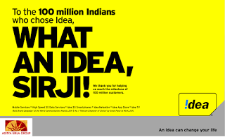 Rs 50 Cashback on Bill Payments of Minimum Rs 1 on My Idea App