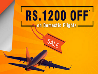 Rs 1200 Cashback on domestic flight on goibibo for SBI Cardholders on Goibibo (GOSBI)