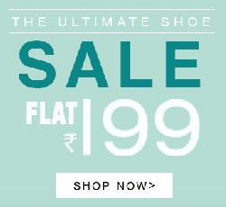 Mens Shoes at Flat Rs 199/- on Yepme