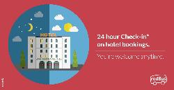 Redbus Offers -80% OFF on Hotel Bookings -Redbus Offers and Coupons
