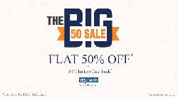BIG 50 Sale- Beds, Sofa and Bean Bags 50% OFF on Fabfurnish