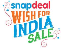 Snapdeal Wish for India Sale Upto 70% OFF on Mobiles, Fashion, Electronics & More