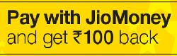 Get Rs 100 cashback on BookMyShow using Jiomoney