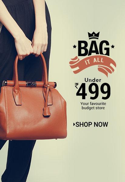 Vooknik.com Ladies Handbags Under Rs 500-Baapoffers.com for March ... 4e6e9c232ccd0