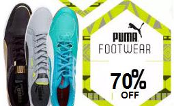 Myntra Puma Shoes   Sandals 60% OFF Big