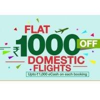 Yatra FLY Offer | Rs 1000 OFF on Domestic Flights | 15000 on International Flights -Baapoffers.com