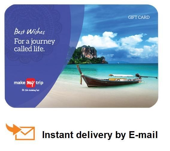 20% Off on Makemytrip gift cards + Extra Offers -Coupon MMTGIFT