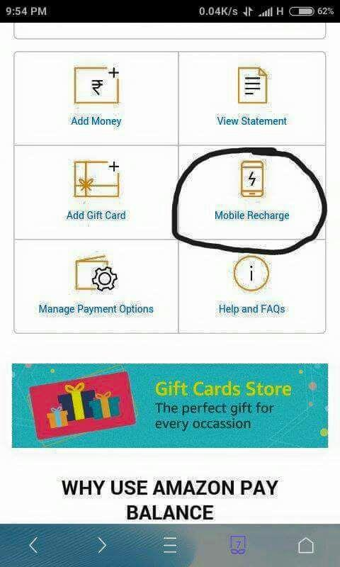 Amazon Mobile Recharge Offers   Amazon Recharge Offer 20% Cashback Today-Baapoffers.com