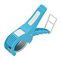 Amiraj Plastic Vegetable Cutter, White/Blue at Rs 106   Amazon Offer