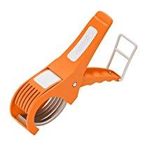 Amiraj Plastic Vegetable Cutter, White/Orange at Rs 154 | Amazon Offer