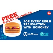 Book Bus Tickets/Pass on Ridlr App and Get McDonalds Coupon Every Week | jiomoney Offer