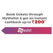 Book Movie Tickets Through MyWallet and Get Instant Cashback upto Rs.200 | Bookmyshow Offer