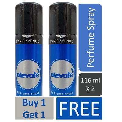 Buy 1 Get 1 Free Park Avenue Elevate Perfume Spray 100g   paytmmall Offer
