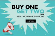 Buy 1 Get 2 Free – Clothing, Footwear & Accessories   at Rs 834 | Jabong Offer