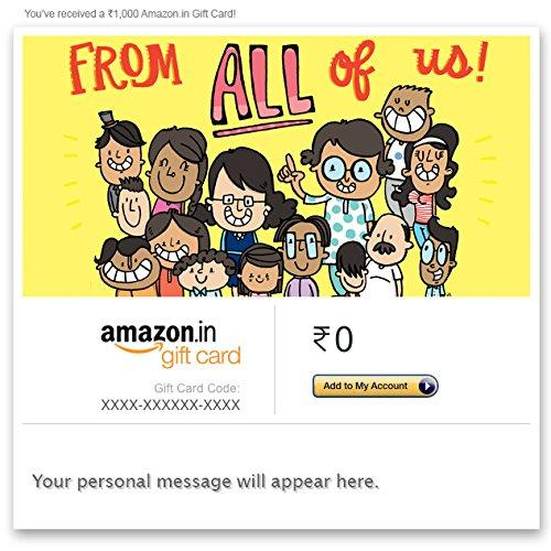 Buy Amazon Gift Cards | Get 5% Cashback on eMail Gift Cards -Baapoffers.com