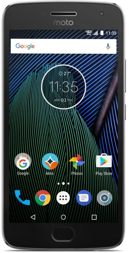 Buy Moto G5 Plus at Rs 16999/- on Flipkart + Extra 5% off