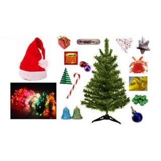 Christmas Tree Cap Lights Decoratives At Rs 153 On Shopclues
