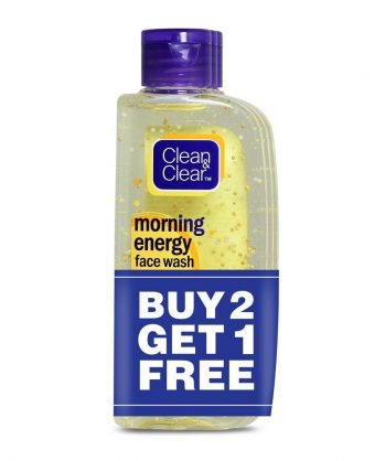 Clean & Clear Morning Energy Facewash, Lemon, 100ml (Buy 2 Get 1 Free) at Rs 235 | Amazon Offer