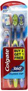 Colgate Toothbrush-360 Degree Flosstip – Buy 2 Get 1 Free at Rs 126 | Amazon Offer