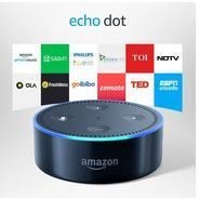 Echo Dot - Voice control your music, Make calls, Get news, weather & more - Black at Rs 4499 | Amazo