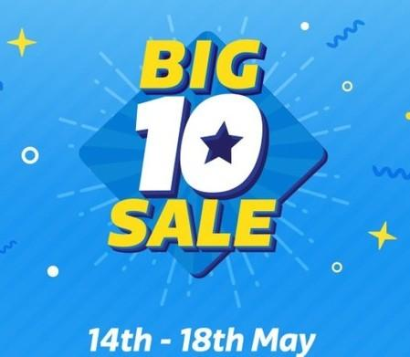 Flipkart Big10 Sale 14th - 18th May 2017 | All Offers