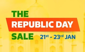 Flipkart - The Republic Day Sale (21st, 22nd and 23rd January 2018)