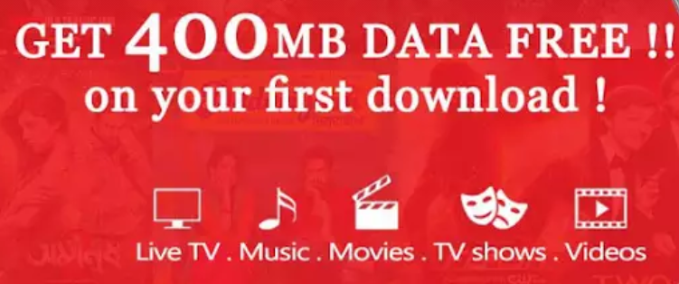 Free 400 MB data and 3 months TV subscription for Vodafone users for