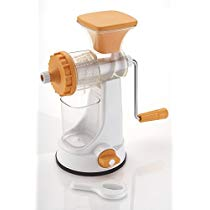 Ganesh Plastic Fruit and Vegetable Juicer, Orange at Rs 339 | Amazon Offer