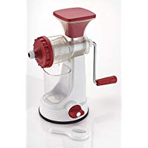 Ganesh Plastic Fruit and Vegetable Juicer, Red at Rs 417 | Amazon Offer