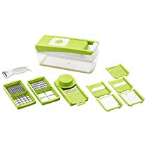 Ganesh Vegetable Dicer, 12 Cutting Blades, Green at Rs 415 | Amazon Offer