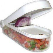 Ganesh Vegetable & Fruit Chopper Cutter With Free Chop Blade & Cleaning Tool      india at Rs 199 |