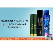 Get (10am - 3pm) Unisex Deodorants Upto 80% OFF | Paytm Offer