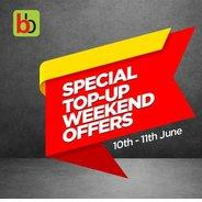 Get (10th-11th June) Bigbasket Special Top-Up Weekend Offers | bigbasket Offer