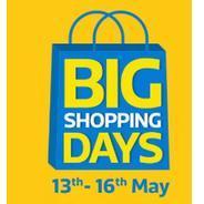 Get 13th-16th May - Flipkart Big Shopping Days   Flipkart Offer