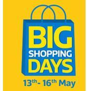 Get 13th-16th May - Flipkart Big Shopping Days Upto 90% OFF + Extra 10% Instant Discount with HDFC C