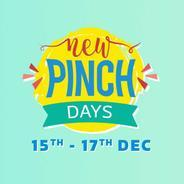 Get 15th-17th Dec - Flipkart New Pinch Days Sale + Extra 10% Instant Discount With HDFC Bank Debit &
