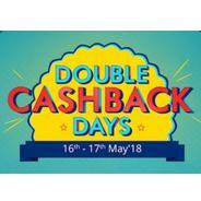 Get 16th-17th May - Double Cashback Days | paytmmall Offer