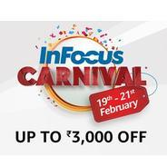 Get 19th-21th Feb. - Infocus Carnival - Infocus Mobiles Upto Rs.3000 OFF | Amazon Offer