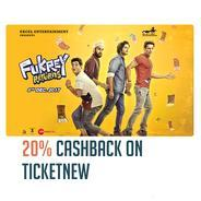 Get 20% Cashback Upto Rs.50 When You Pay With Freecharge on Ticket New | Freecharge Offer